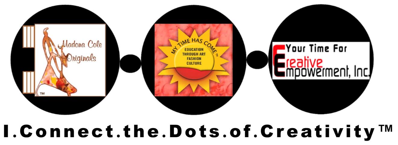 I Connect The Dots of Creativity Logo